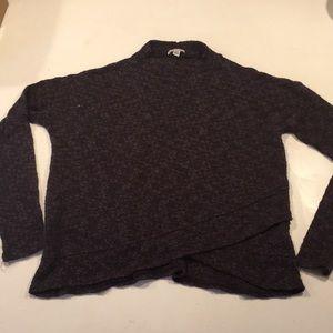Dark purple sweater